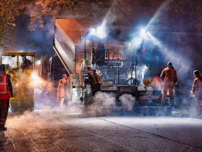aanbrengen en verwijderen asfalt